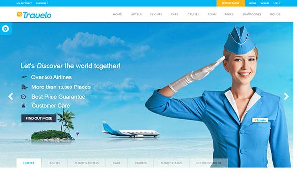 Thiết kế website vé máy bay chuyên nghiệp, độc đáo