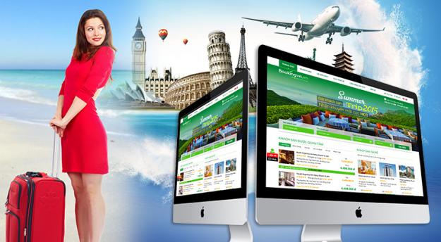 Thiết kế website vé máy bay chuyên nghiệp tích hợp mã API